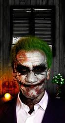 Schwarzenegger the Joker by KriszTianOlah