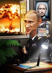 Putin the Destroyer by KriszTianOlah