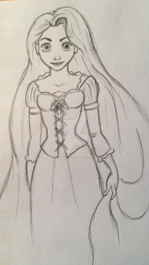 Rapunzel #5637578 by littlewaysoul