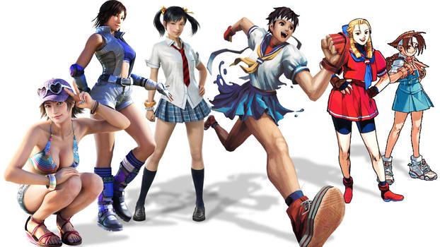 Video Game Archetypes: Fighting Schoolgirls