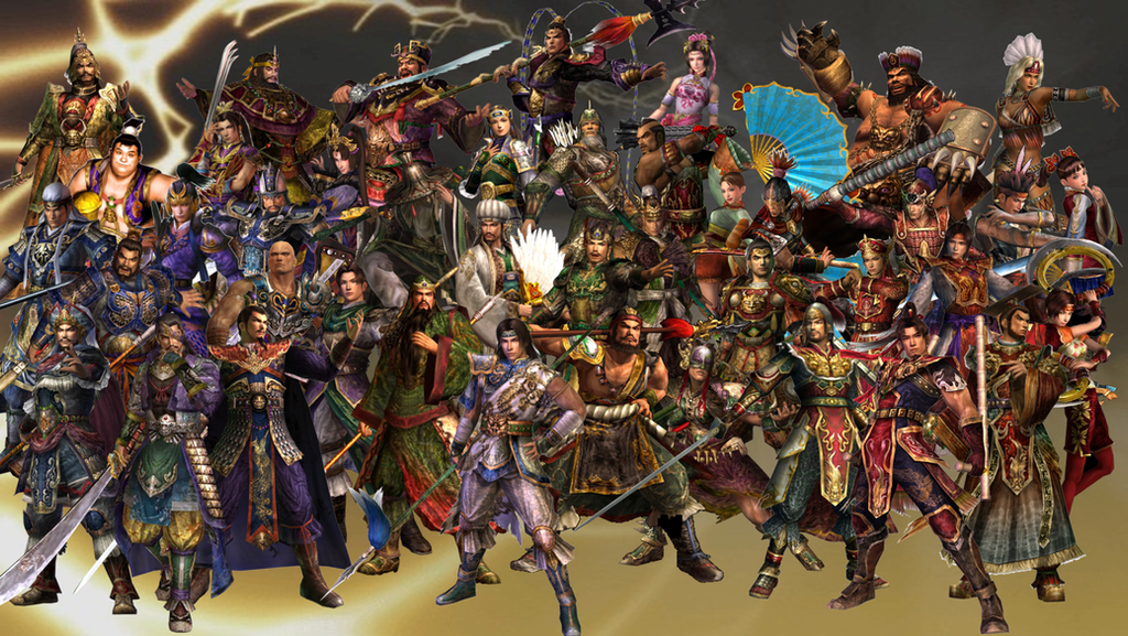 Dynasty Warriors 4 Roster by The4thSnake on DeviantArt