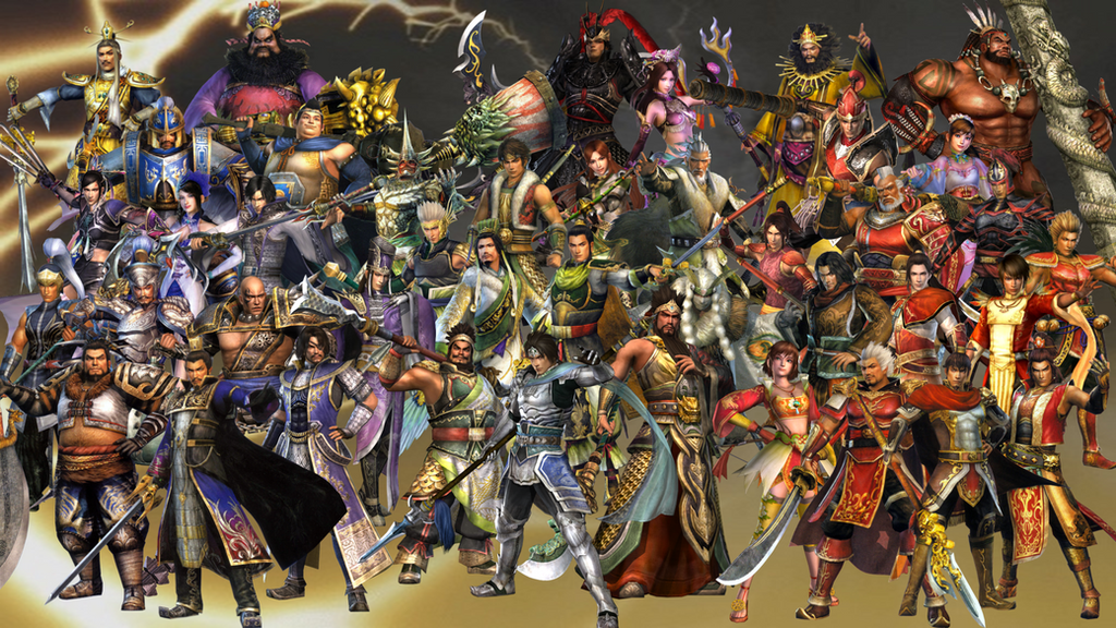 Dynasty Warriors 6 Roster by The4thSnake on DeviantArt