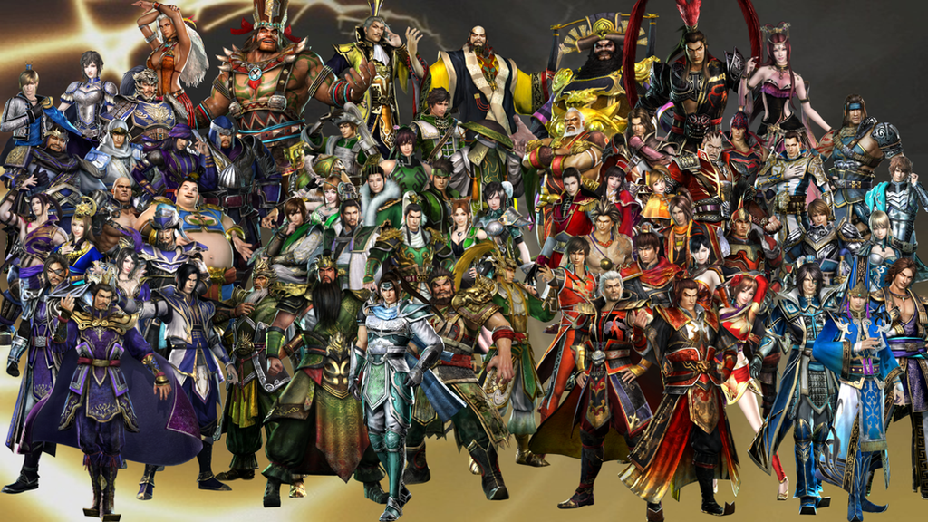 Dynasty Warriors 7 Roster by The4thSnake on DeviantArt