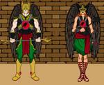 Hawkman and Hawkwoman