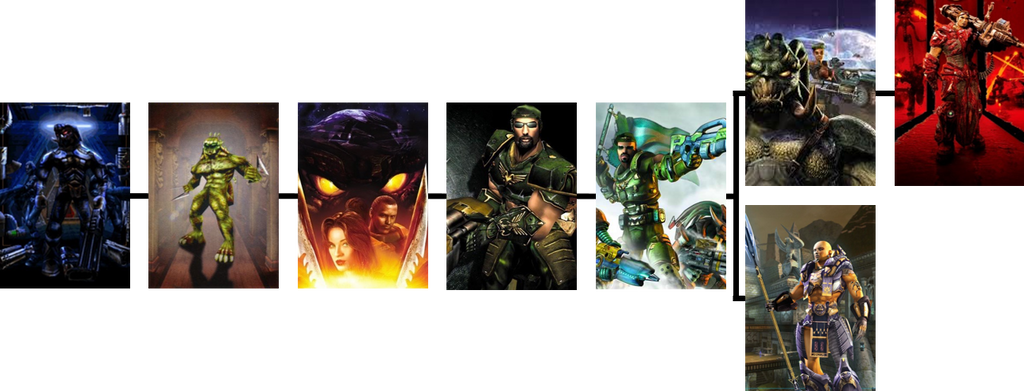 Unreal (Tournament) - A Line Through Time by The4thSnake on DeviantArt