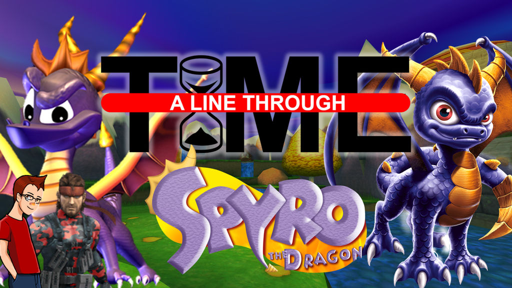 Spyro the Dragon - A Line Through Time by The4thSnake on DeviantArt