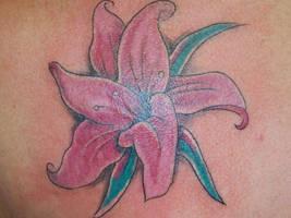 Lily by Diamondback-Tattoo