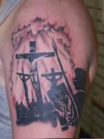 christian tattoo by Diamondback-Tattoo