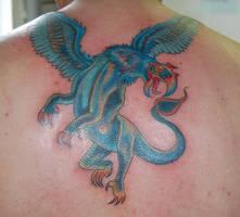 Griffin by Diamondback-Tattoo