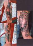 Egyptian unfinished sleeve
