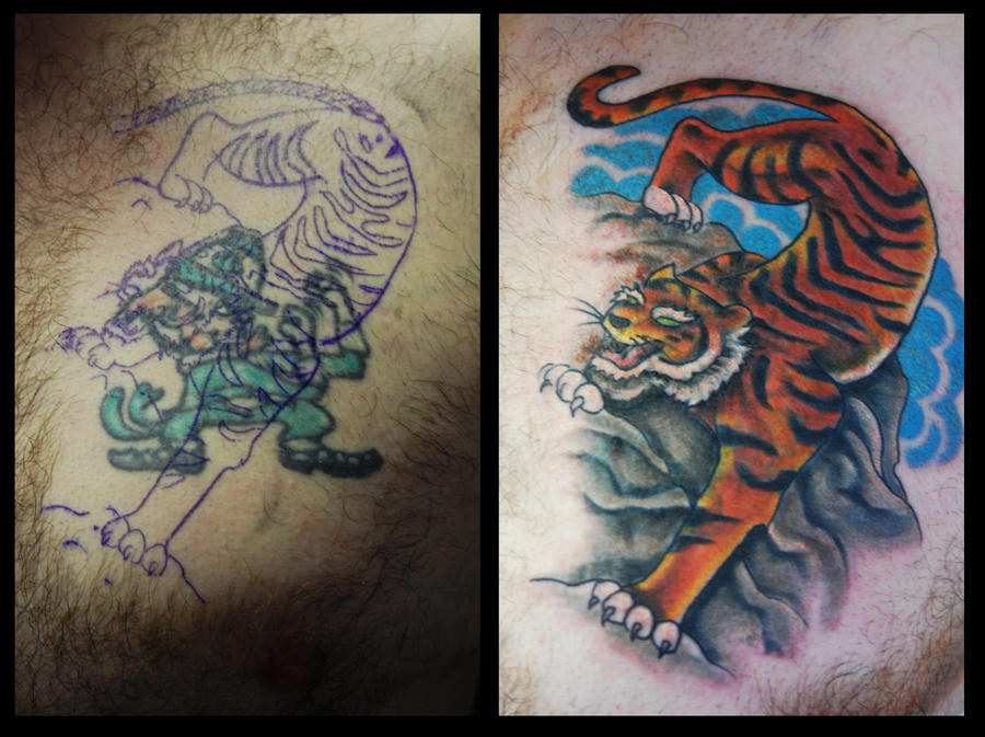 Jap tiger cover up