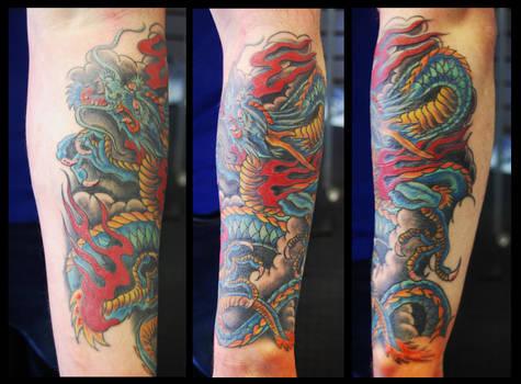 Blue Jap dragon
