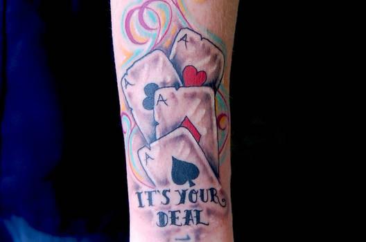Card tattoo