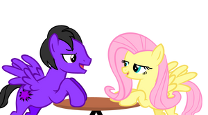 Me and Fluttershy on a Date