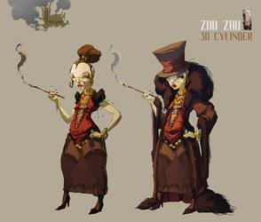 Zhu Zhu by AzelDm