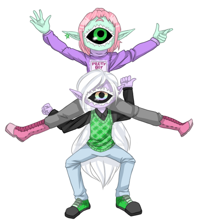 [COLLAB] Biggest dorks ever by Lord-Nerdfish
