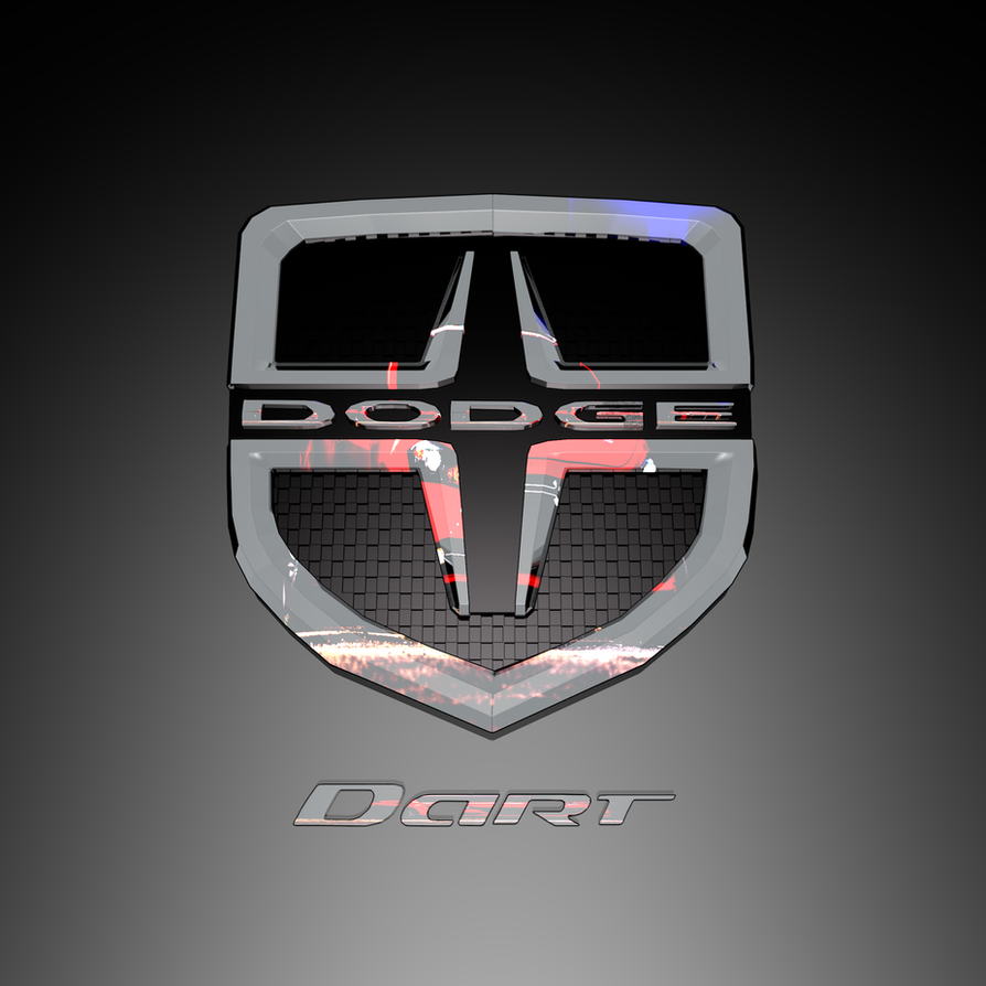 3d dodge dart logo by petes3d on deviantart