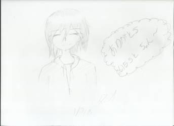[[GIFT]]: Arigatou, Imouto-chan! by tsuki-ya