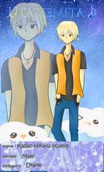 ::Utaitemita App:: - Kazuo Hikaru (Kumo) by tsuki-ya