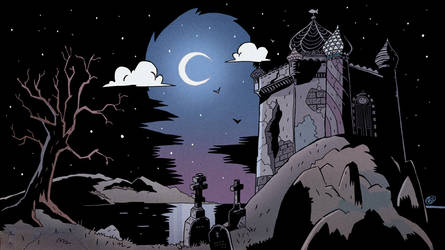 Dark Castle by Tlenon