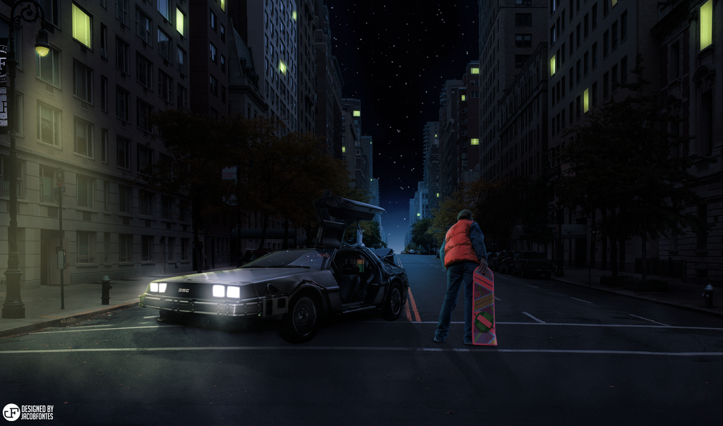 Back To The Future Fan Art By JacobFCC