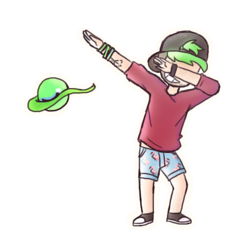 Anime Characters Dabbing : Lean and dab jacksepticeye by puppyrelp on deviantart