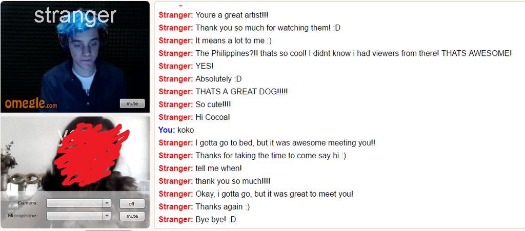 omegle random chat