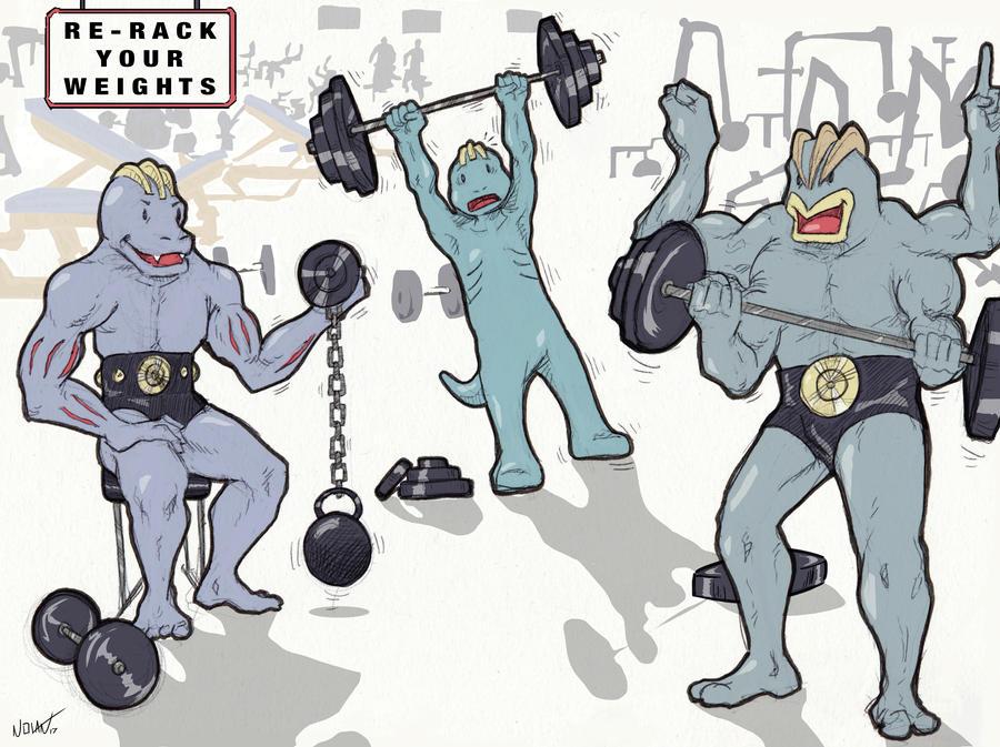 Gym Bros by Llewxam888