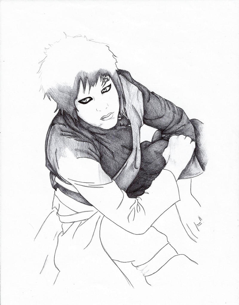 Gaara wip by Sampixie