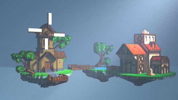 vOXEL fLYING hOUSE_2