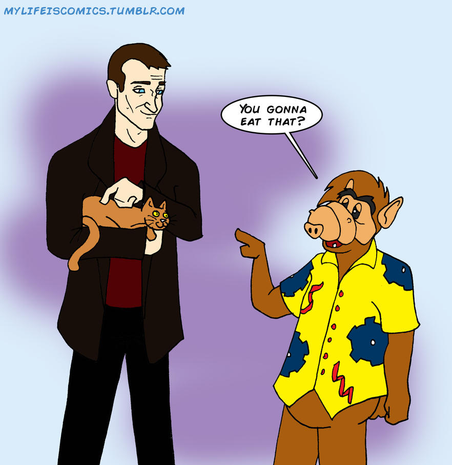 The Doctor Meets Alf by Teenfox77