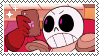 A Real Magic Skeleton stamp by suchscary