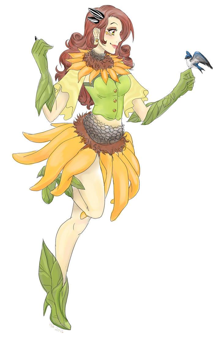 Sunflower Seed by DarkVow