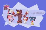 Unikitty Team Super Paper Mario Villains Costumes