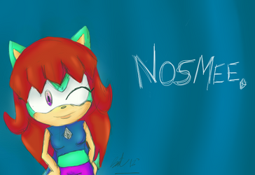 Nosmee by kathehedgehog