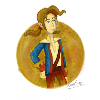 Guybrush Threepwood by kathehedgehog