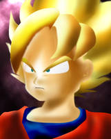 Goku small by MJ-designer