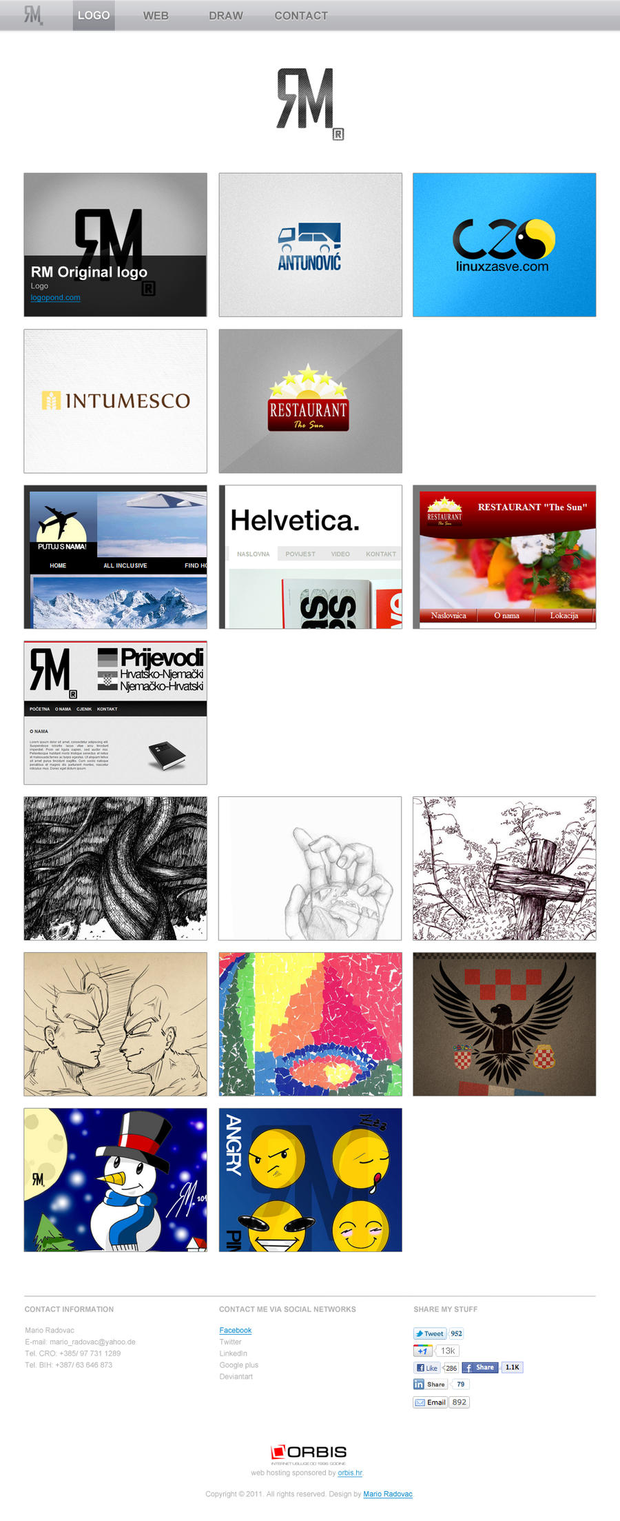RM portfolio by MJ-designer