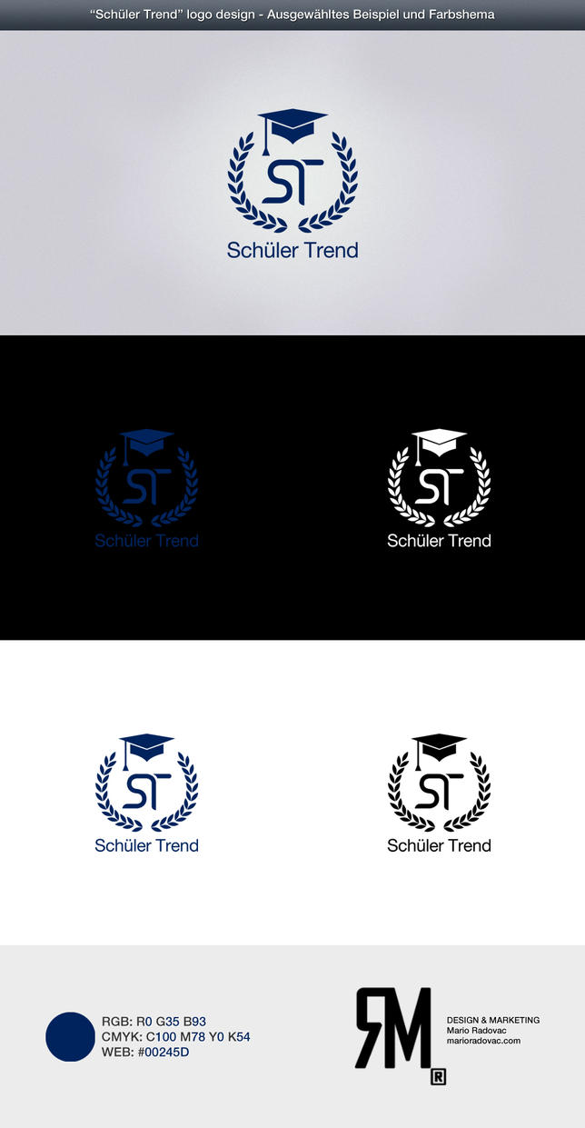 Schueler Trend logo design by MJ-designer