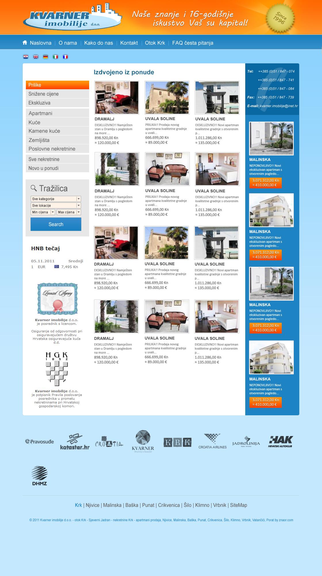 kvarner-imobilije.hr by MJ-designer