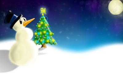 Snowman part2 by MJ-designer