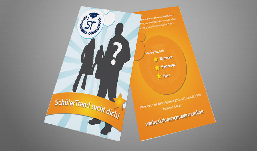 SchuelerTrend Flyer 1 by MJ-designer