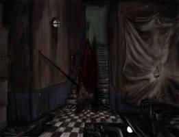 Door that wakes in darkness... by amrrr