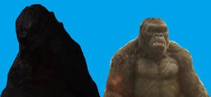 Godzilla and Kong we're a team!