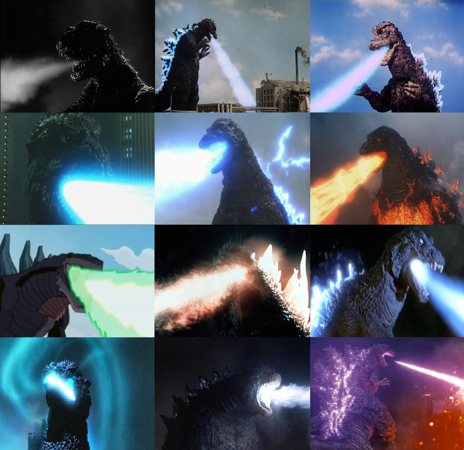 Evolution Godzilla Atomic Breath by MnstrFrc on DeviantArt