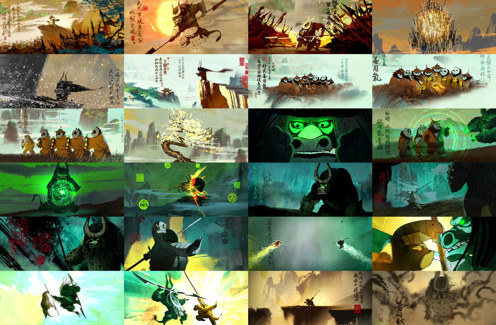 Kung Fu Panda 3 The Story Of Kai By Mnstrfrc On Deviantart