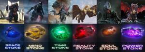 Evil Monsters Infinity Stones