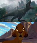 Simba React Tyrannosaurus Rex