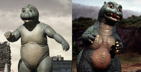 Minilla and Godzilla Junior