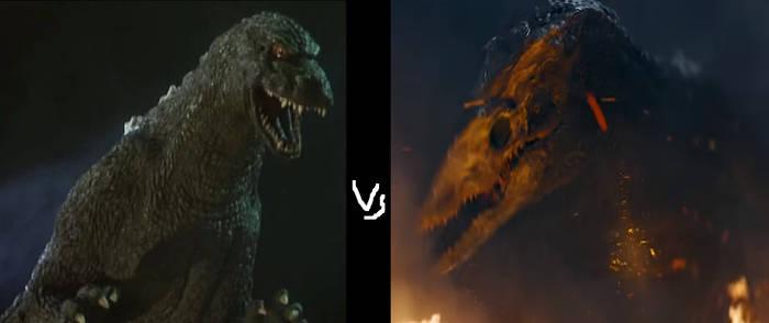 Godzilla Junior vs Skull Crawler by MnstrFrc